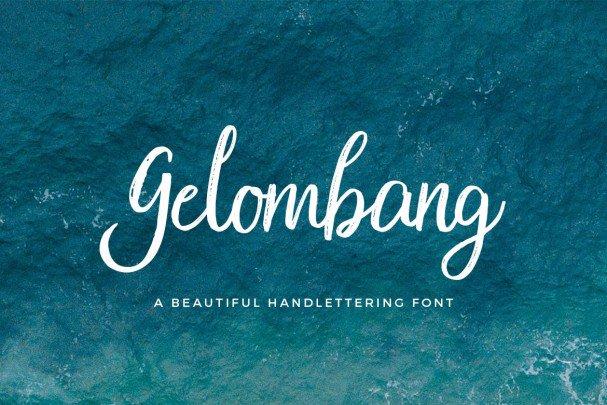 Download Gelombang font (typeface)