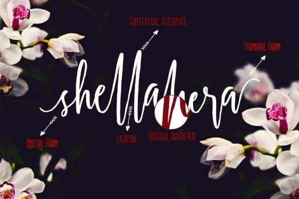 Download Shellahera font (typeface)