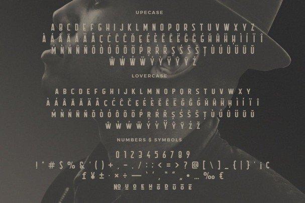 Download Flathead Typeface font (typeface)