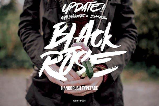 Download Black Rose font (typeface)