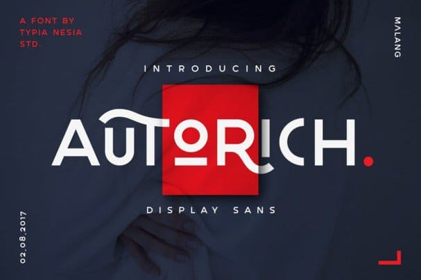 Download Autorich Sans font (typeface)