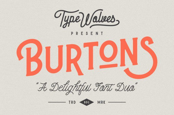 Download Burtons font (typeface)
