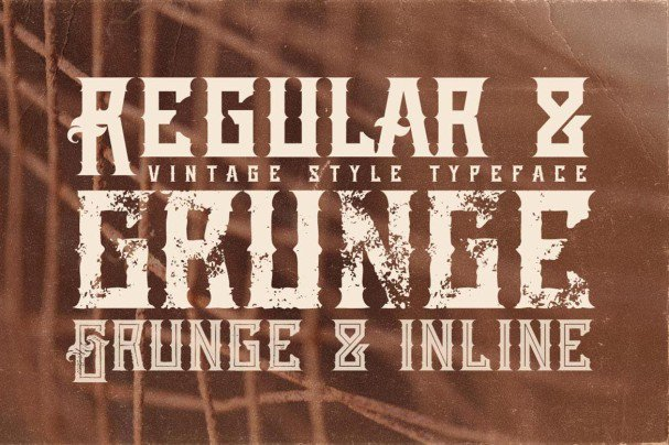Download Atara - Vintage Style font (typeface)