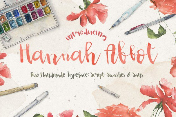 Download Hannah Abbot font (typeface)