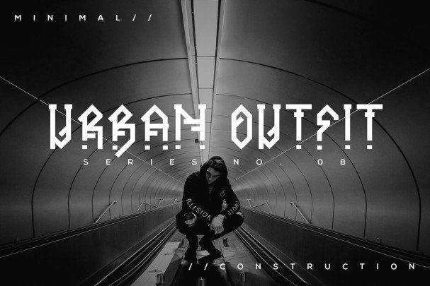 Download Ornacle - Futuristic Font font (typeface)