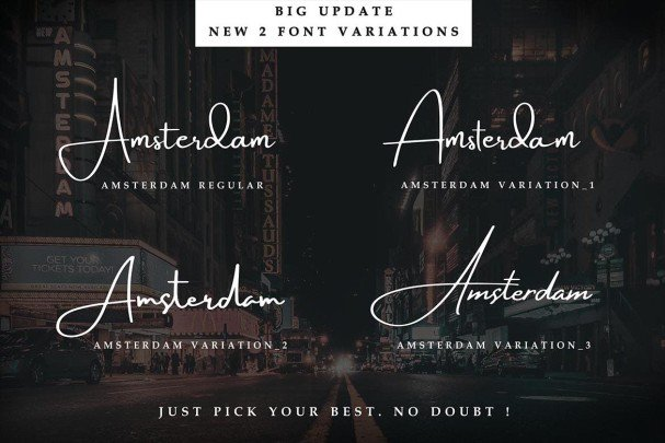Download Amsterdam Collection font (typeface)