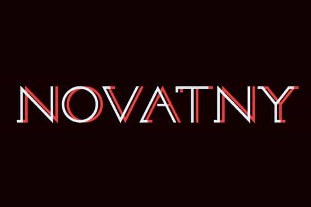 Download Novatny font (typeface)