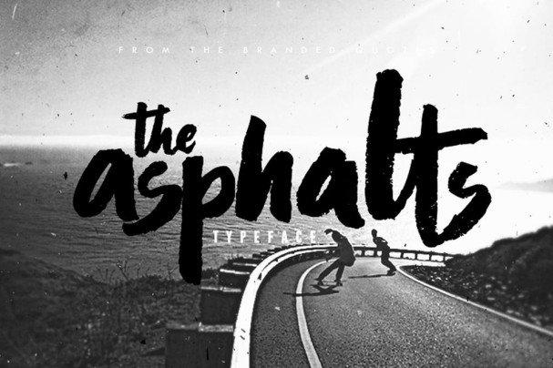 Download Asphalts Typeface font (typeface)