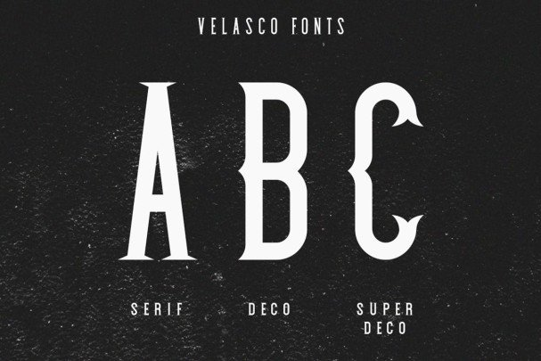 Download Velasco font (typeface)