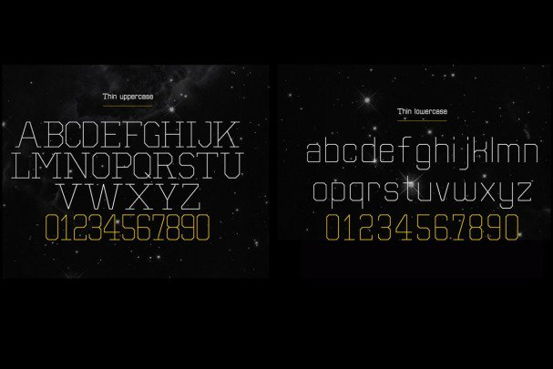 Download Separator typeface font (typeface)