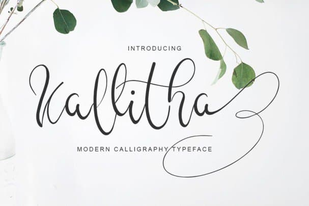 Download Kalitha font (typeface)