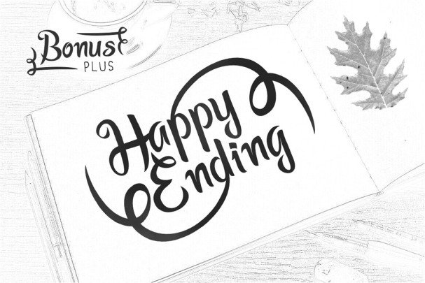 Download Happy Ending Typeface font (typeface)