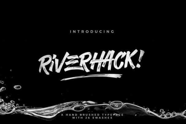 Download Riverhack font (typeface)