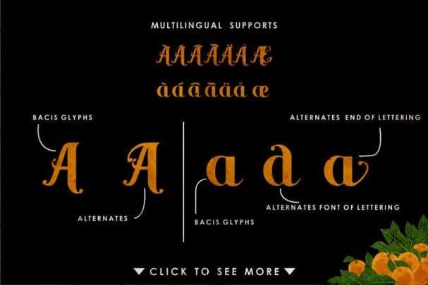 Download Yellow Orange font (typeface)