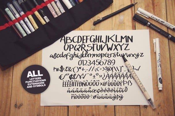 Download Bumpy Typeface font (typeface)