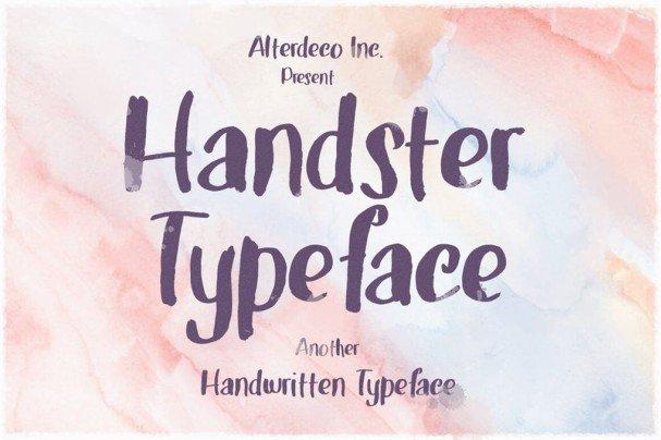 Download Handster Typeface font (typeface)