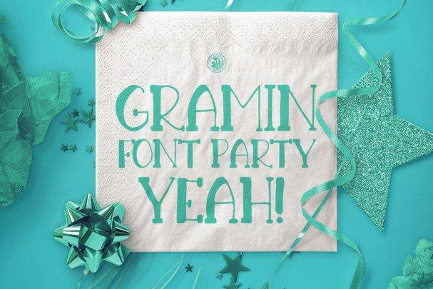Download Gramin Font font (typeface)