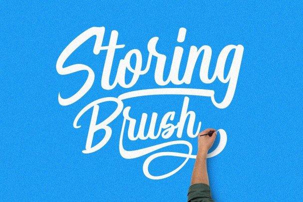 Download Storing font (typeface)