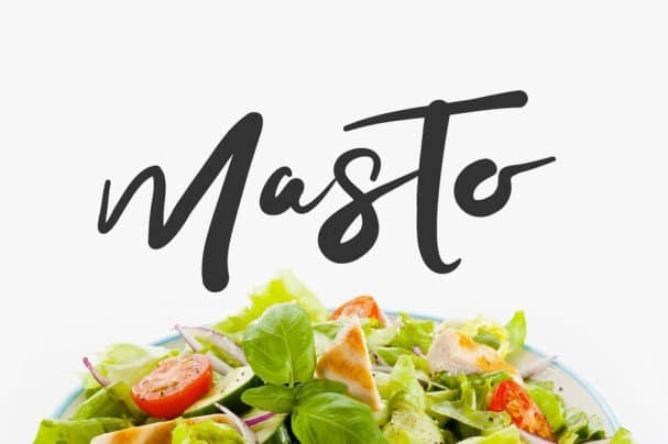 Download Masto Typeface font (typeface)