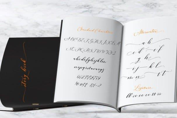 Download Lucinda Script font (typeface)