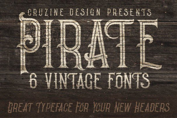 Download Pirate- Vintage Style font (typeface)