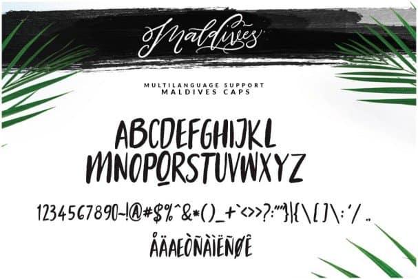 Download Maldives Script font (typeface)