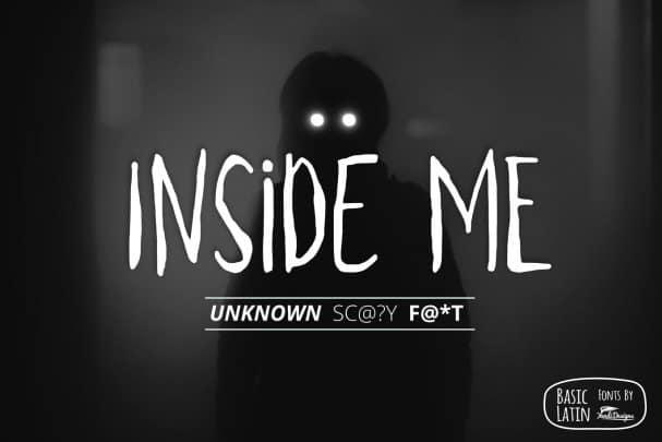 Download Inside Me Font font (typeface)
