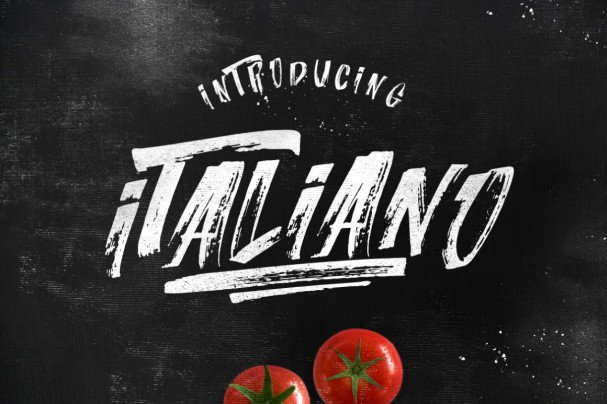 Download Italiano Brush Font font (typeface)