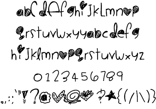 Download Cookie Monster font (typeface)