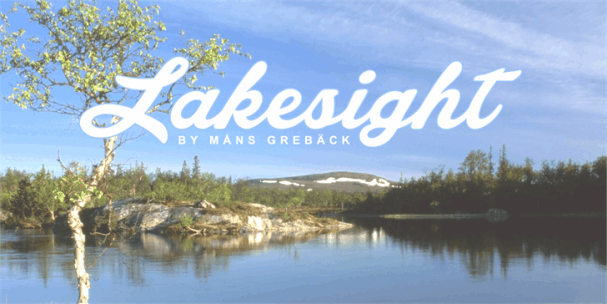 Download Lakesight font (typeface)