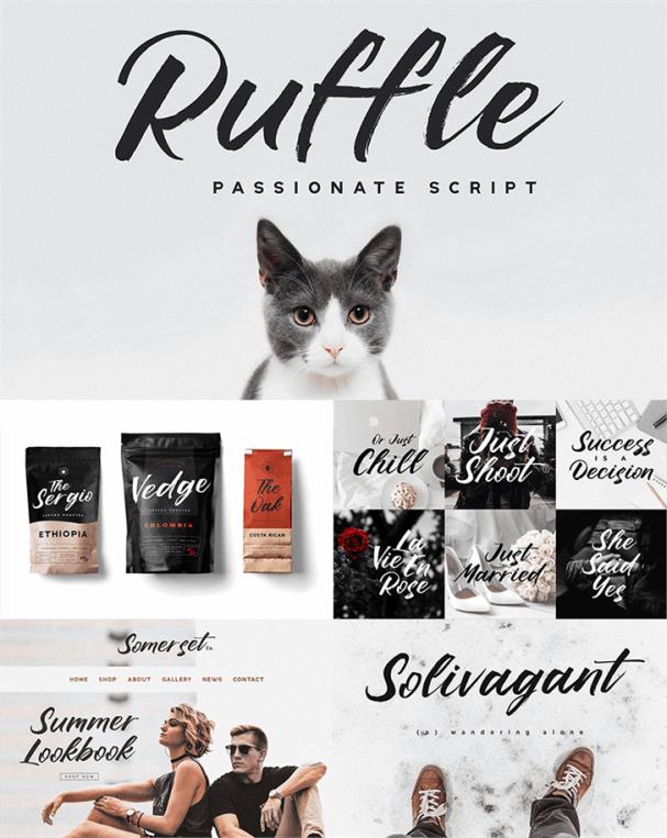 Download Ruffle Script font (typeface)