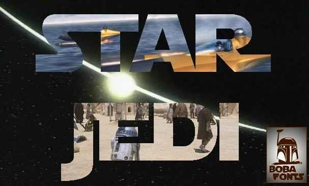 Download Star Jedi font (typeface)
