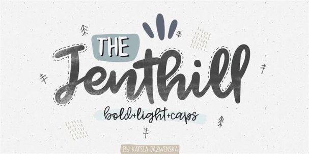 Download Jenthill font (typeface)
