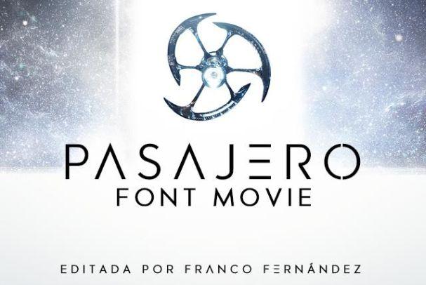 Download Pasajero font (typeface)