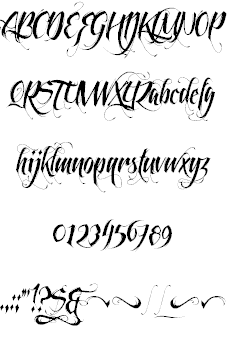 Download Feathergraphy font (typeface)