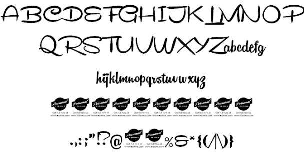 Download Remachine Script font (typeface)