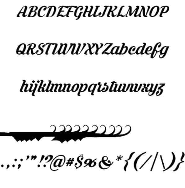 Download Krinkes font (typeface)
