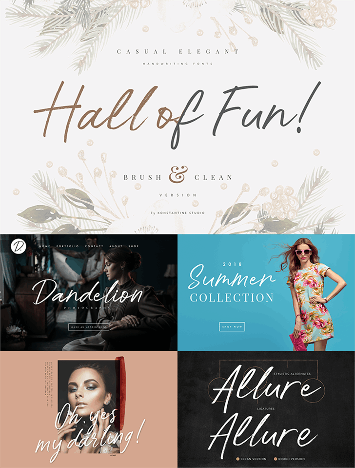 Download Hall Of Fun font (typeface)