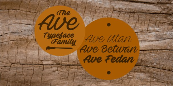 Download Ave Fedan font (typeface)