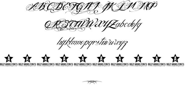 Download Ink In The Meat font (typeface)