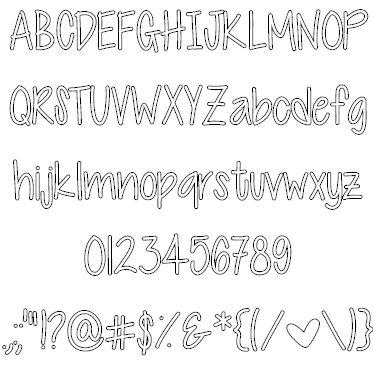 Download Cutie Patootie font (typeface)