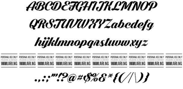 Download Dark Larch font (typeface)