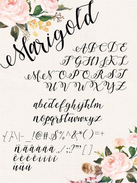 Download Marigold font (typeface)