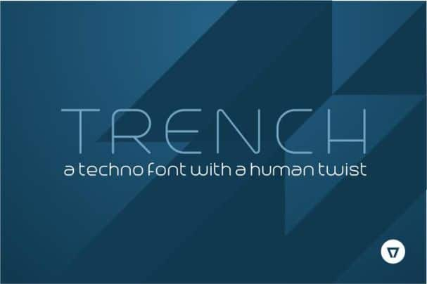 Download Trench font (typeface)