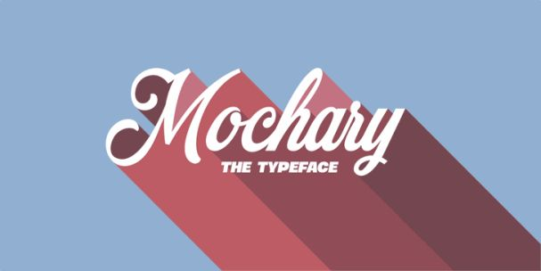 Download Mochary font (typeface)