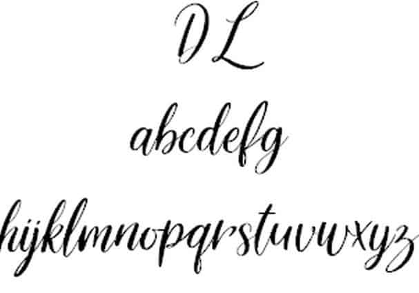 Download Delight Lettering font (typeface)