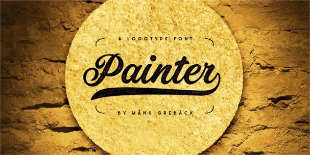 Download Painter font (typeface)