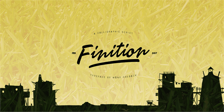 Download Finition font (typeface)