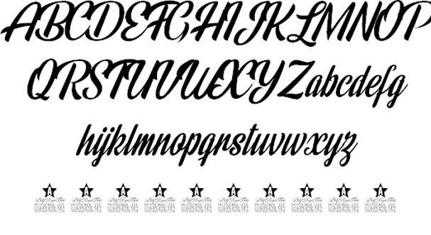 Download Rainbow Bridge font (typeface)