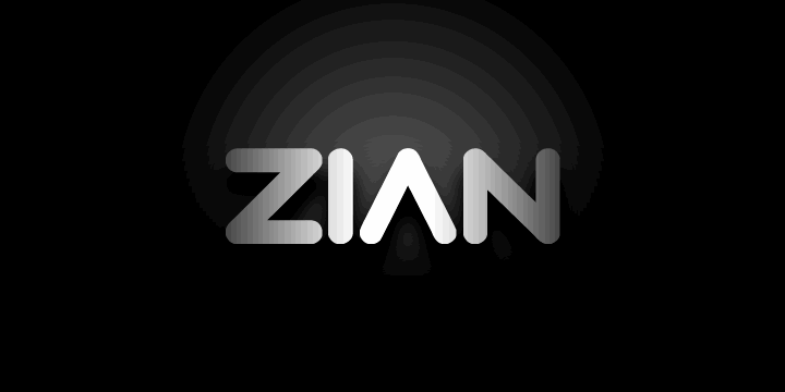 Download Zian font (typeface)